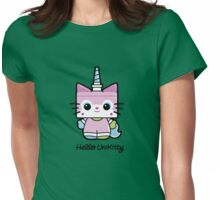 Hello Unikitty Womens Fitted T-Shirt