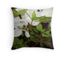 Another Garden Admirer Throw Pillow