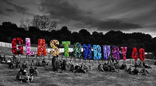 Happy Birthday Glastonbury by Steve Briscoe