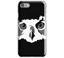 Angry Owl iPhone Case/Skin
