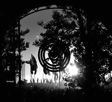 The Leftfield Stage by Steve Briscoe