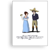 Pride and Prejudice and Tacos Metal Print