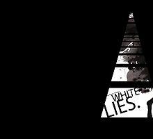 White Lies (Book Cover) by Simon Bowker