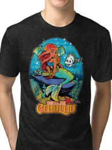 The Little Cthulhu Tri-blend T-Shirt