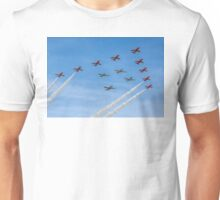 Red Arrows and Eagle Squadron Team Unisex T-Shirt