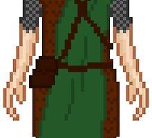 Skyrim 8-bit Markarth Guard by sansasnark