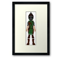 Skyrim 8-bit Markarth Guard Framed Print