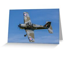 Provost T.1 XF603 G-KAPW banking Greeting Card
