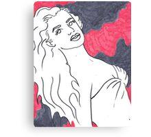 Dreamy Bombshell Canvas Print