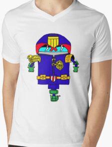 Dredd it Mens V-Neck T-Shirt