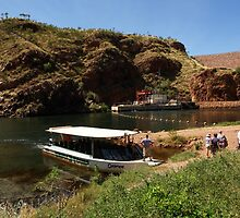 Our Ord River cruise ends at the dam by georgieboy98