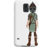 Skyrim 8-bit Morthal Guard Samsung Galaxy Case/Skin