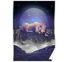 Under the Stars III (Leo Constellation) Poster