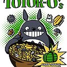 Totoro's Cereal by mikaelaK