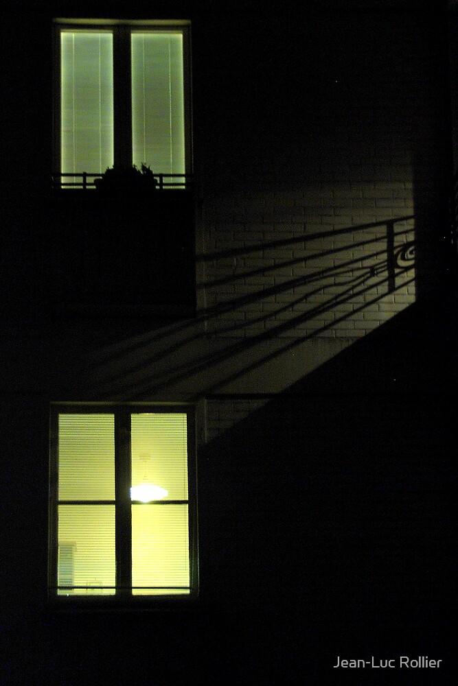 Paris - Rear window. by Jean-Luc Rollier