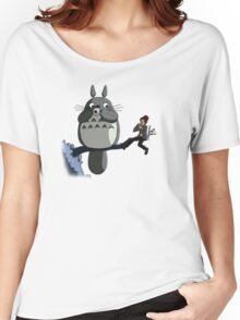 Totoro and the Doctor's Midnight Musicale Women's Relaxed Fit T-Shirt