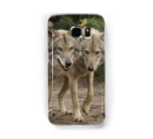 Rescued Timber Wolves 2 Samsung Galaxy Case/Skin