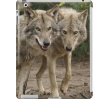 Rescued Timber Wolves 2 iPad Case/Skin