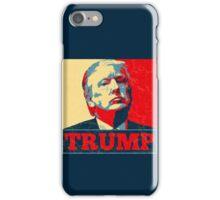 Vote TRUMP - Donald Trump in 2016 - Shepard Fairey Style - Make America Great Again iPhone Case/Skin