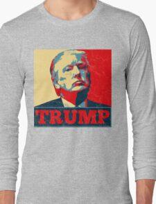 Vote TRUMP - Donald Trump in 2016 - Shepard Fairey Style - Make America Great Again Long Sleeve T-Shirt