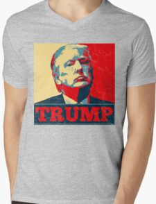Vote TRUMP - Donald Trump in 2016 - Shepard Fairey Style - Make America Great Again Mens V-Neck T-Shirt