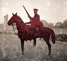 British Soldier - Second Cavalry by Jeff Kingston