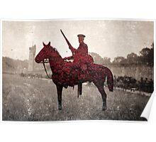 British Soldier - Second Cavalry Poster