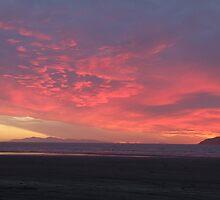 Kapiti Sunset by ArtbyPixieMoon