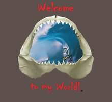 Welcome to my World Mens V-Neck T-Shirt