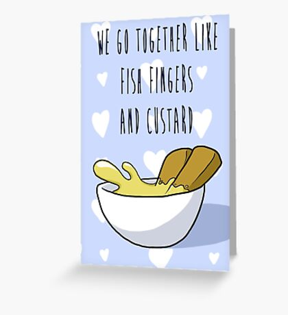 We Go Together Greeting Card