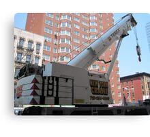 New York City Crane Canvas Print