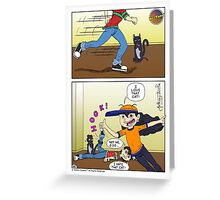 Hi' Tone Hook Greeting Card