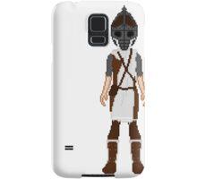 Skyrim 8-bit Winterhold Guard Samsung Galaxy Case/Skin