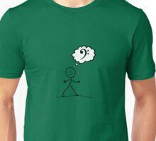 Thinking of Bass Unisex T-Shirt