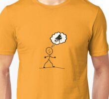 Thinking of the Piano Unisex T-Shirt