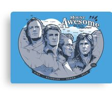 Mt. Awesome Canvas Print