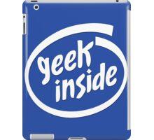 Geek Inside - White iPad Case/Skin