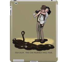They Can Probably Smell Fear iPad Case/Skin