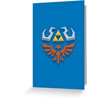 The Legend of Zelda - Link's Hylian Shield Greeting Card
