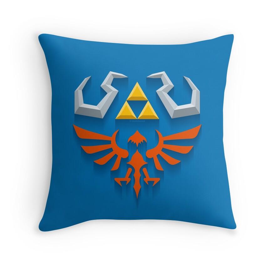 Zelda Throw Pillows :