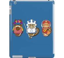 Workobeez THREE GOOD SPORTS! iPad Case/Skin