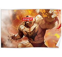 Zangief - Street Fighter - Supreme Poster