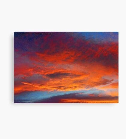 The Heavens Declare II Canvas Print