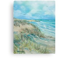 High Tide at the Dune Canvas Print