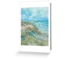 High Tide at the Dune Greeting Card