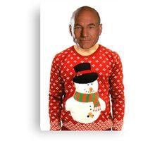 Christmas Picard Canvas Print