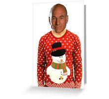 Christmas Picard Greeting Card