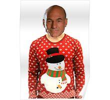 Christmas Picard Poster