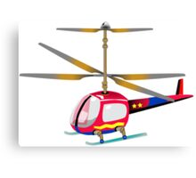 Henry the Helicopter Canvas Print
