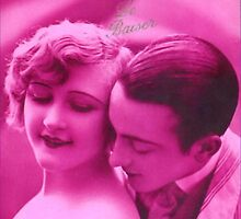 "Vintage French Beauty  ""The Kiss."" by Virinia  Downham"